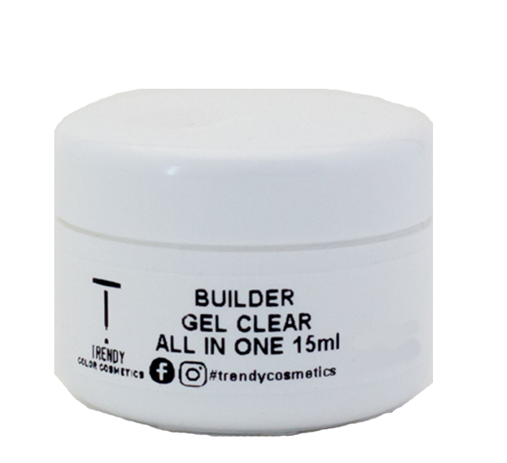 Builder Gel Clear All in One LED & UV 15ml