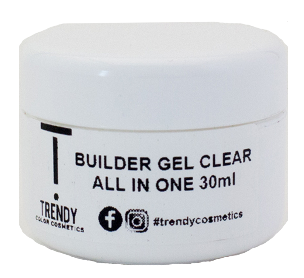 Builder Gel Clear All in One LED & UV 30ml