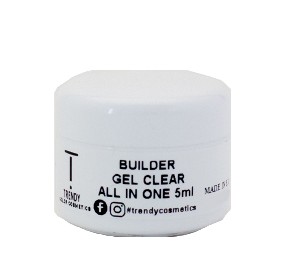 Builder Gel Clear All in One LED & UV 5ml